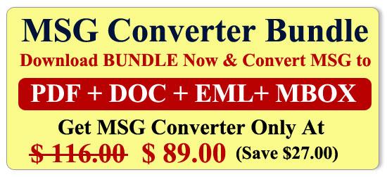 MSG Converter Bundle