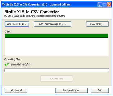 Batch Convert Xls To Csv