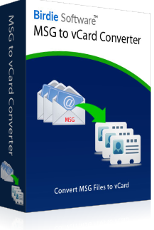 MSG to VCF Converter Box