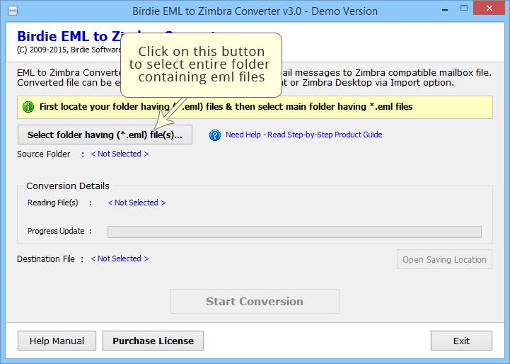 EML to Zimbra Converter to Convert EML Mails to Zimbra Desktop
