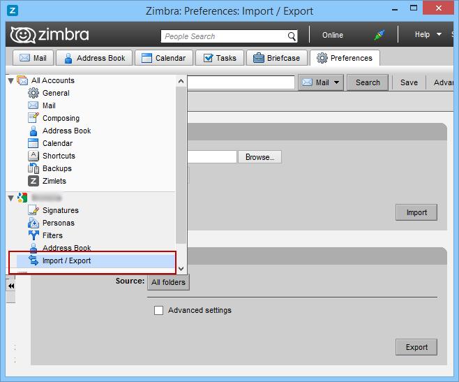 Zimbra Converter — Perform Zimbra to Outlook Migration