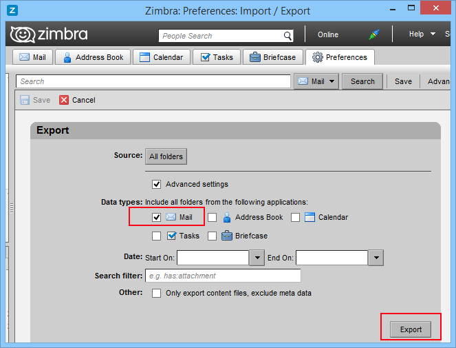 zimbra converter  u2014 perform zimbra to outlook migration