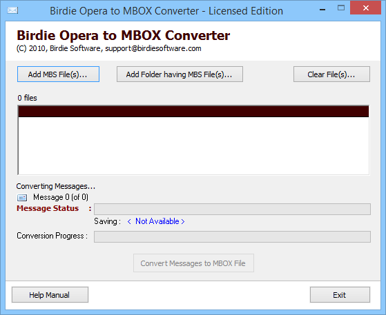 Simple 5 Steps to Convert Opera Mails to MBOX File Format